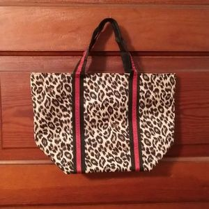 Victoria's Secret Leopard Print Makeup Bag